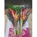 exotique bouquet plat - .
